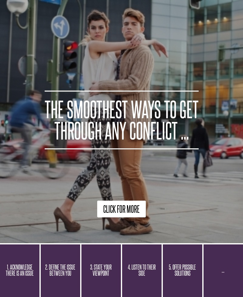 The Smoothest Ways To Get Through Any Conflict ... → 🌟…