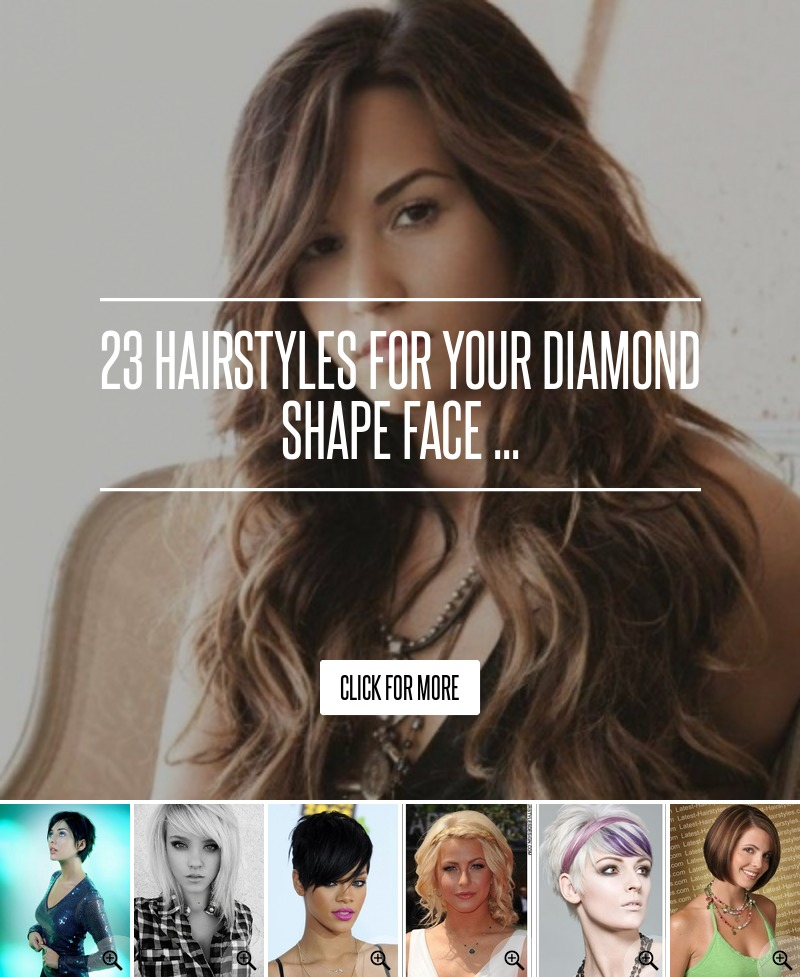 23 Hairstyles For Your Diamond Shape Face Hair
