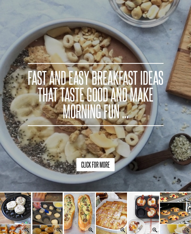 Breakfast Ideas Daniel Fast: Fast And Easy Breakfast Ideas That Taste Good And Make