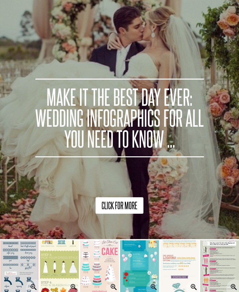 Make It The Best Day Ever: Wedding Infographics For All